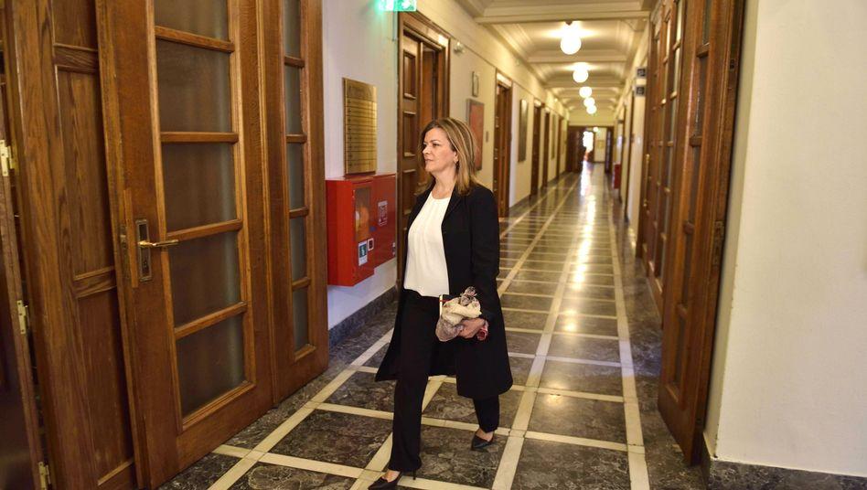 Arbeitsministerin Rania Antonopoulou