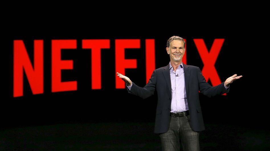Mit Ausnahme von China fast weltweit zu erreichen: Neflix-Chef Reed Hastings hat die Expansion kräftig vorangetrieben, die Abonnentenzahl steigt stark an