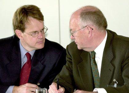 Halbbrüder: Stefan (l.) und Dieter von Holtzbrinck