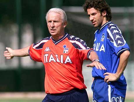 Trainer mit Erfolgsgarantie: Giovanni Trapattoni (l.)