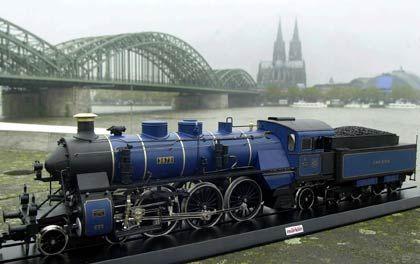 Königlich: Dampflok der Königlich Bayrischen Staatsbahn