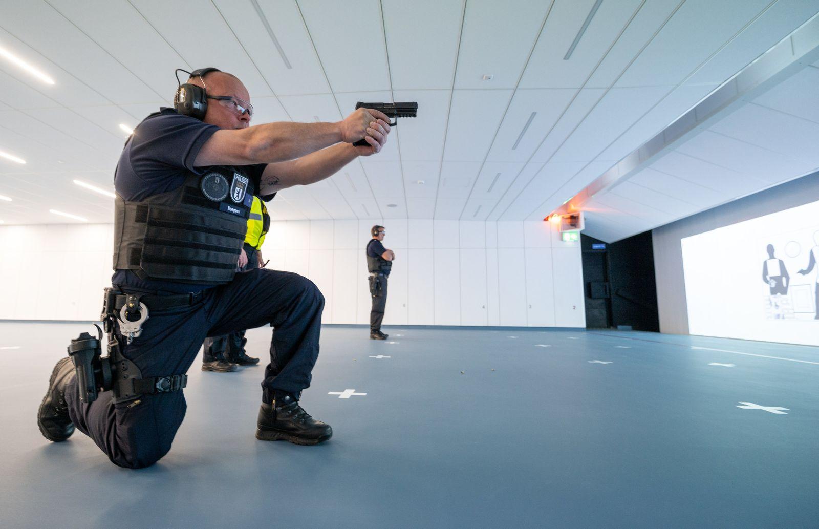 Inbetriebnahme Schießanlage der Polizei