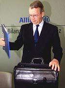 Seine Pläne wurden über den Haufen geworfen: Allianz-Chef Henning Schulte-Noelle