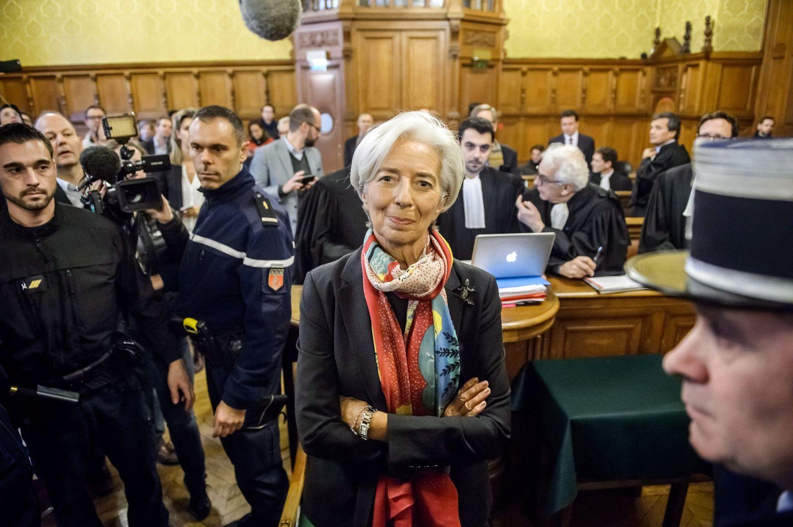 Christine Lagarde vor Gericht