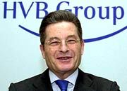 Gute Miene vor enttäuschendem Zahlenwerk: HVB-Vorstandschef Albrecht Schmidt
