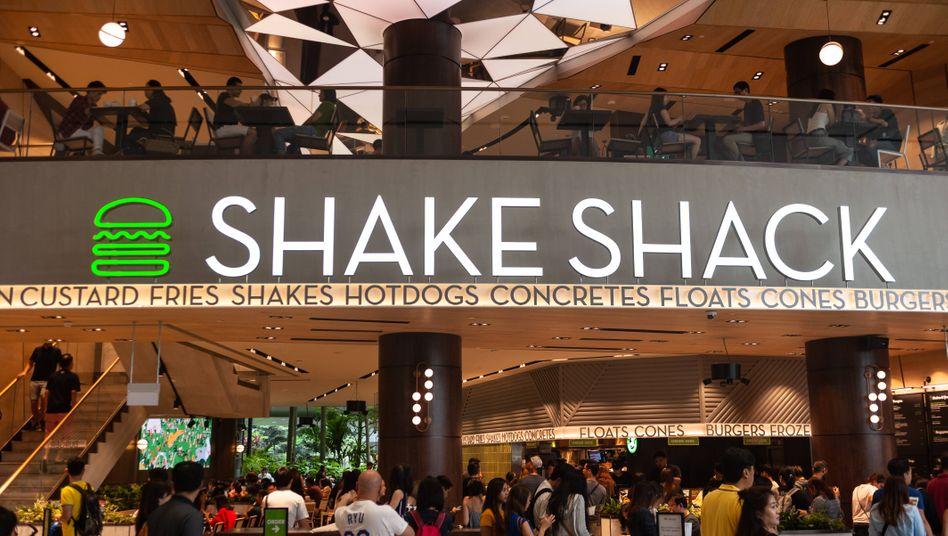 Die nächste Burger-Kette: Erstes Schnellrestaurant von Shake Shack am Changi-Airport in Singapur