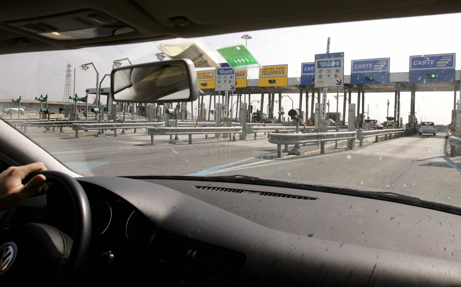 Autobahn / Maut / Italien