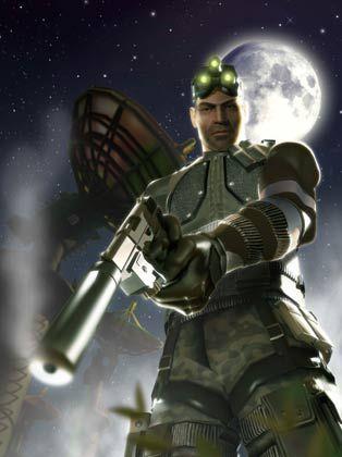 Weg da: Ubisoft-Kämpfer Sam Fisher soll die Konkurrenz aus der Welt schaffen