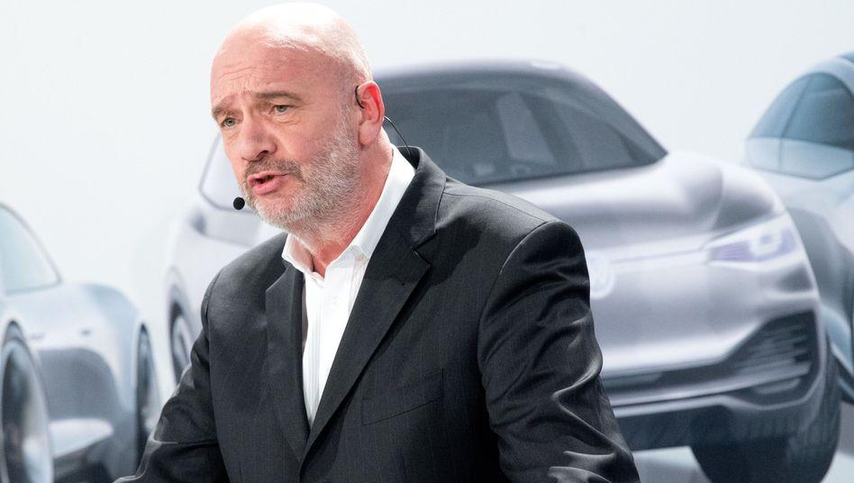 Konzernbetriebsratschef Bernd Osterloh