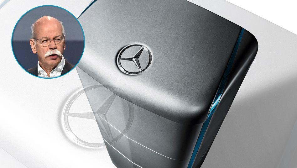 Daimler-Chef Dieter Zetsche, Mercedes-Energiespeicher