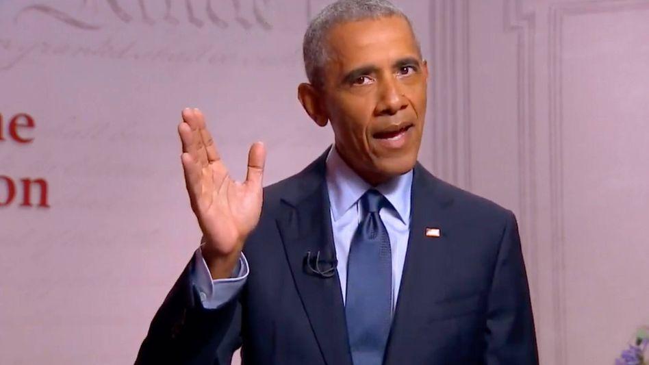 """Barack Obama: """"Trump hat die Präsidentschaft als eine weitere Reality-Show behandelt"""""""