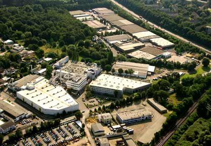 Objekt der Begierde: TMD Friction, im Bild die Unternehmenszentrale in Leverkusen