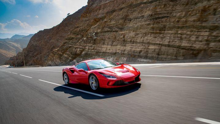 Auto im Blick: Der Ferrari F8