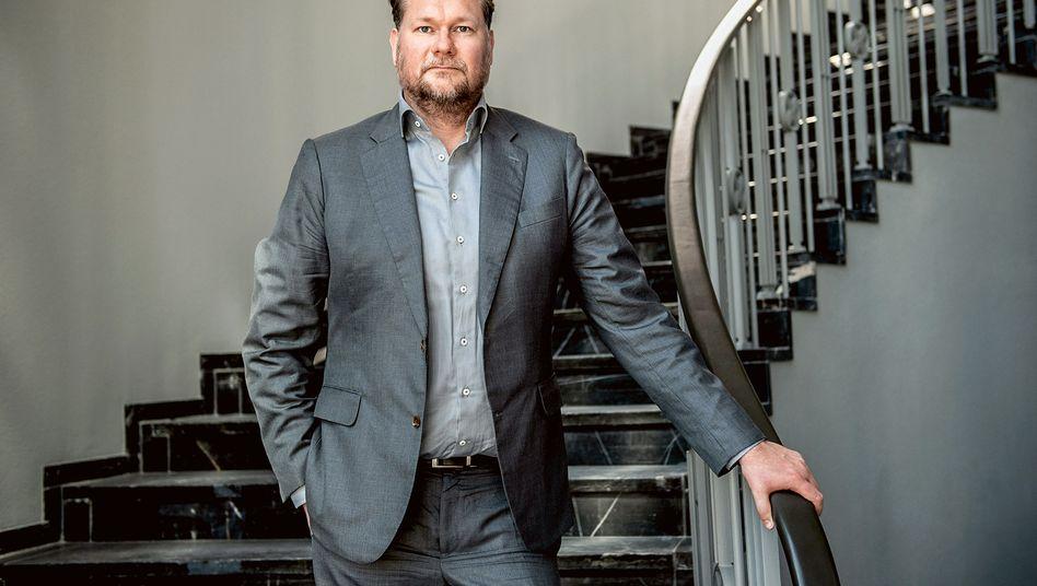 Code sei Dank: Markus Hannebauer in der Ex-US-Kommandantur in Berlin-Dahlem