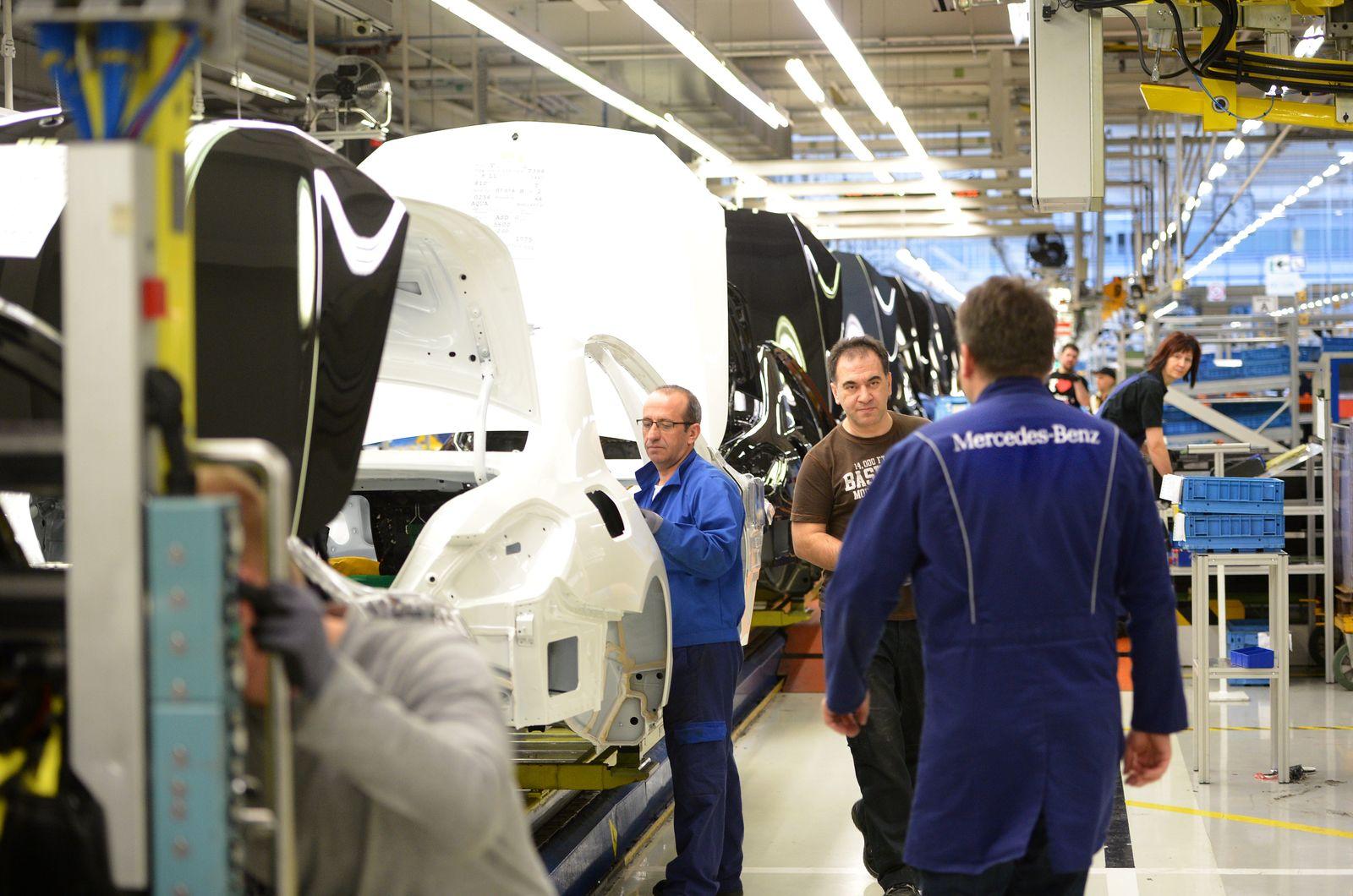 Mercedes / S-Klasse Produktion
