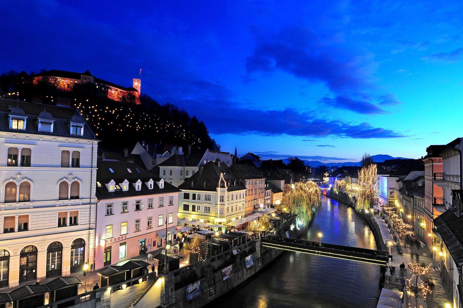 EINMALIGE VERWENDUNG Ljubljana Slowenien