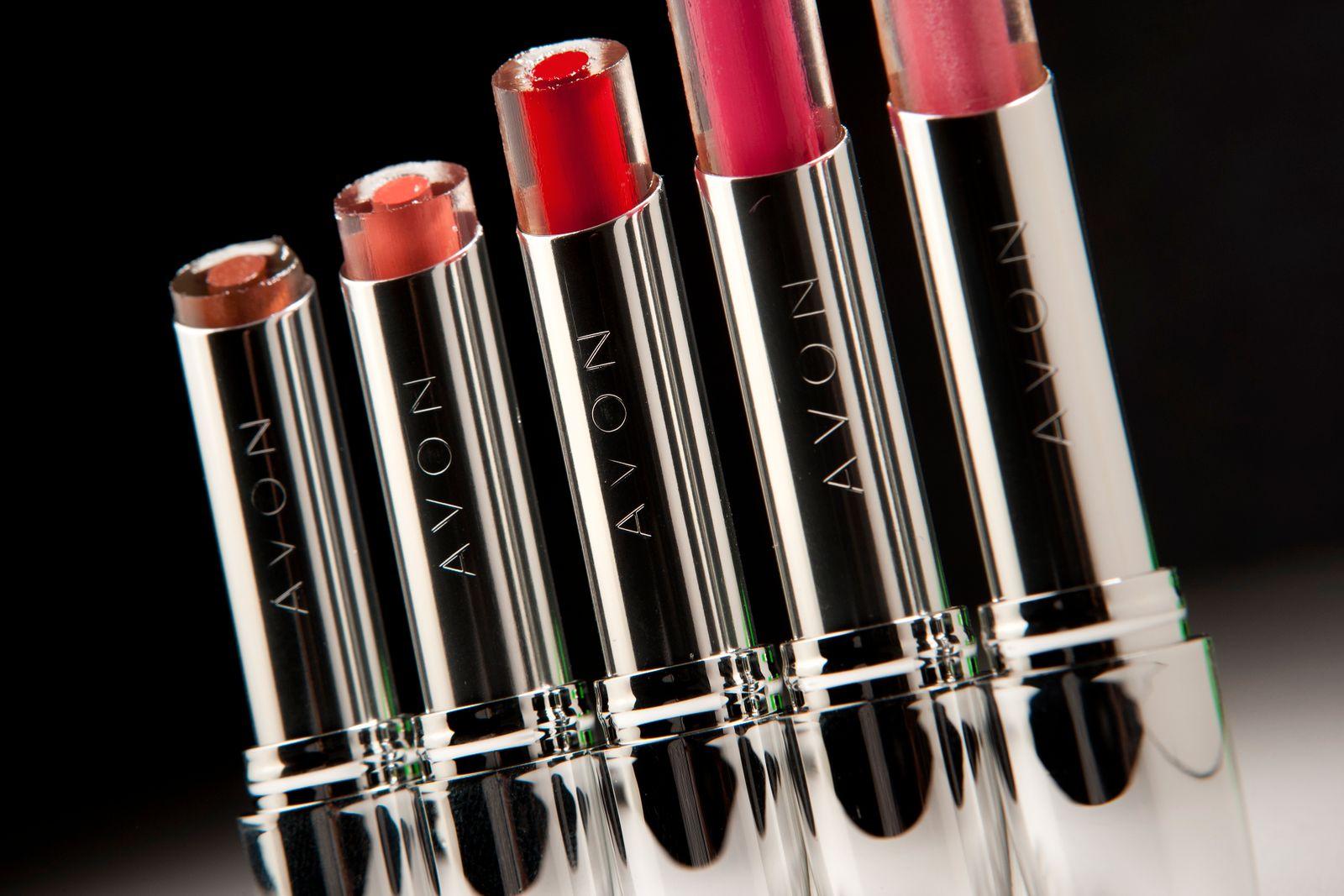 EINMALIGE VERWENDUNG Avon Cosmetics / Lippenstift