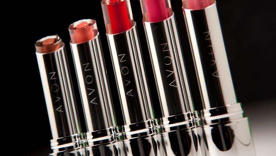 Lippenstifte von Avon: Wo ist die Avon Lady?