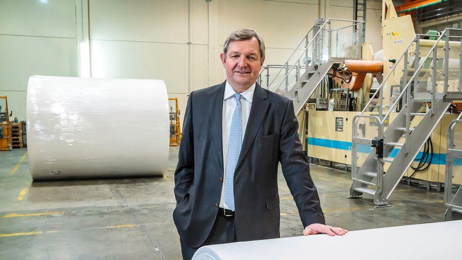 Runde Sache:PapierfabrikantMartin Krengel