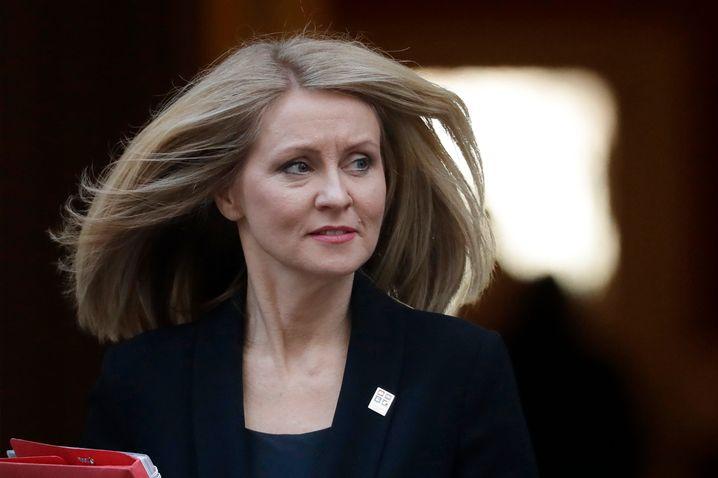 Esther McVey, Ministerin für Arbeit und Rente, verlässt ebenfalls das britische Kabinett