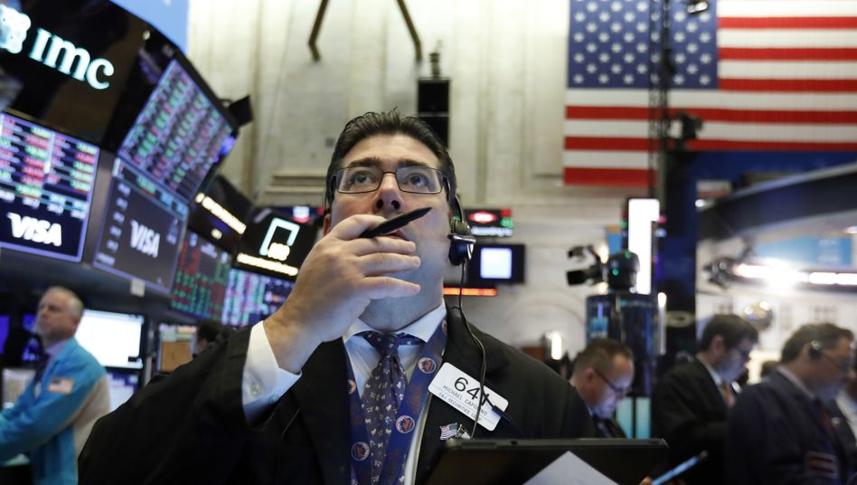 Mensch geblieben: Händler an der New Yorker Börse