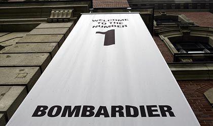 Auftragsrückgang: Bombardier streicht ein Zehntel der Stellen