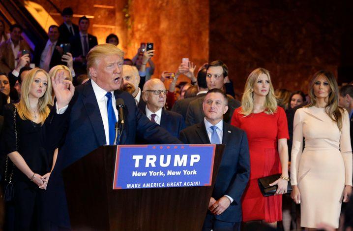 """Donald Trump: """"Wir sind nicht mehr einzuholen"""""""