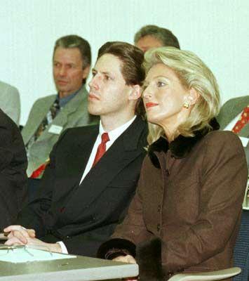 Unterschiedliche Berufsinteressen: Maria-Elisabeth Schaeffler mit ihrem Sohn Georg Schaeffler
