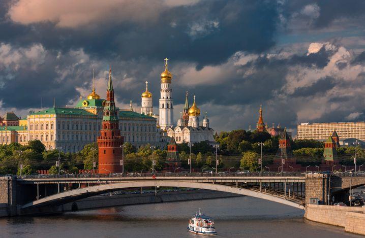 Regierungsviertel in Moskau: Der Kreml verabschiedete ein Anti-Korruptionsgesetz