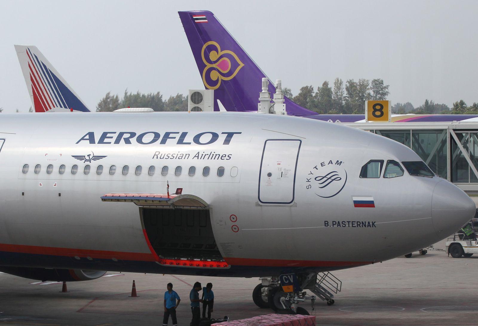 Aeroflot / Flugzeug