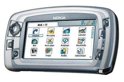 Touchscreen-Handy: Im Jahr 2004 brachte Nokia das Modell 7710 auf den Markt