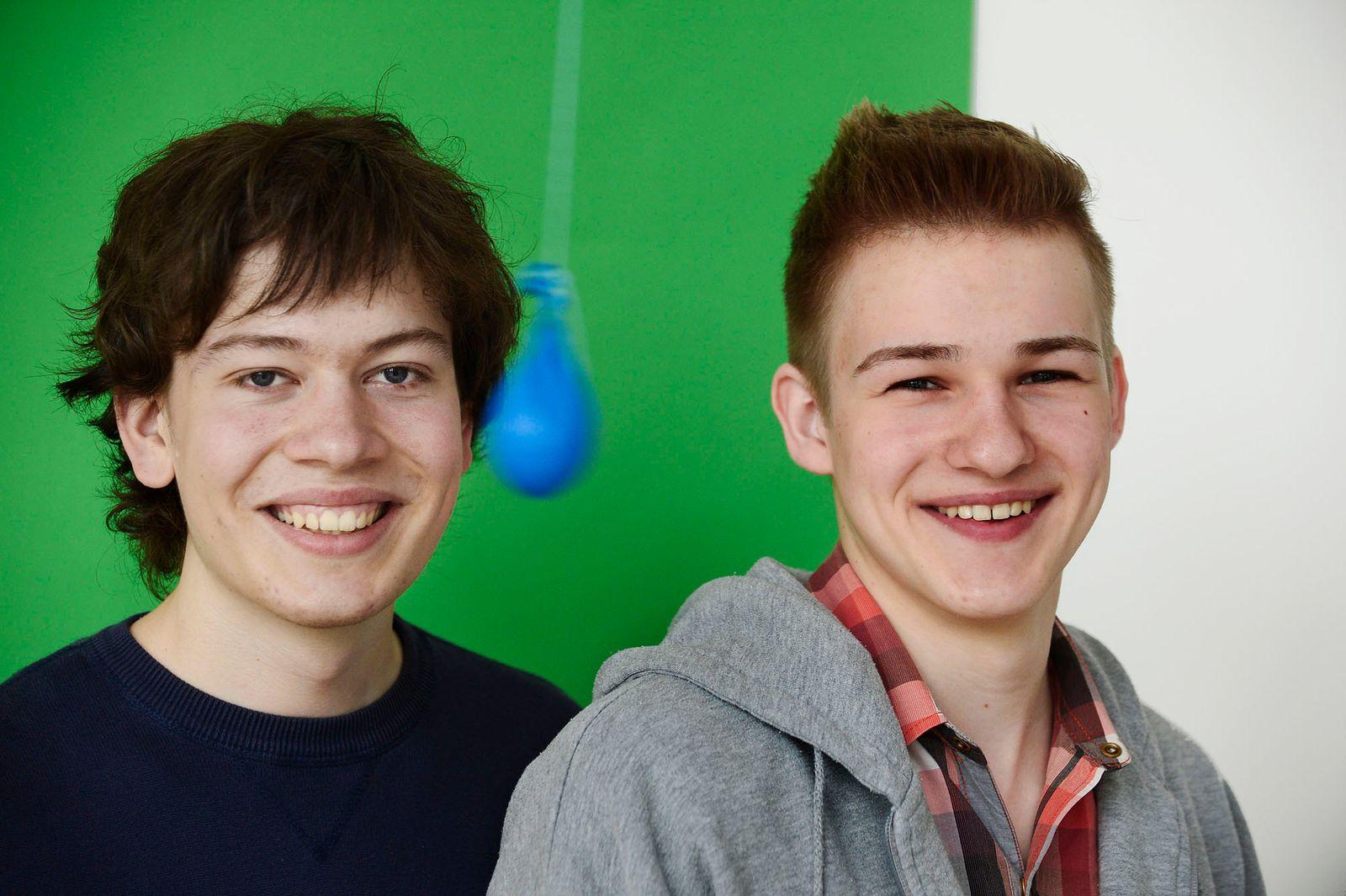 Jann Horn (links) und Hannes Riechert (rechts) aus Oldenburg