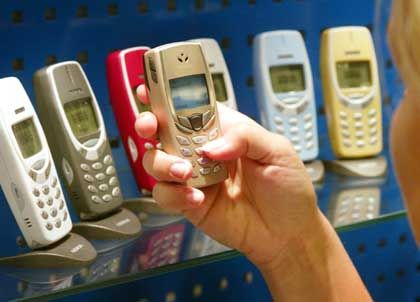Bunte Vielfalt: Nokia-Handys