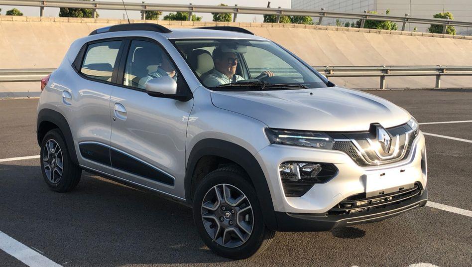 Renault K-ZE: Das Elektroauto entstand in Zusammenarbeit mit dem chinesischen Partner Dongfeng