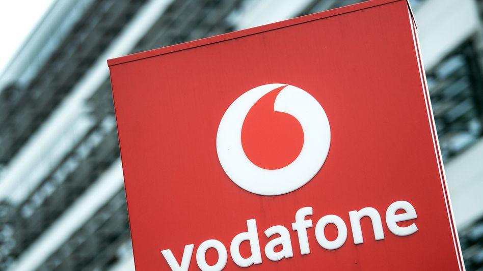 Vodafone-Logo: Die Zahl der Kunden in Deutschland verdoppelt sich fast