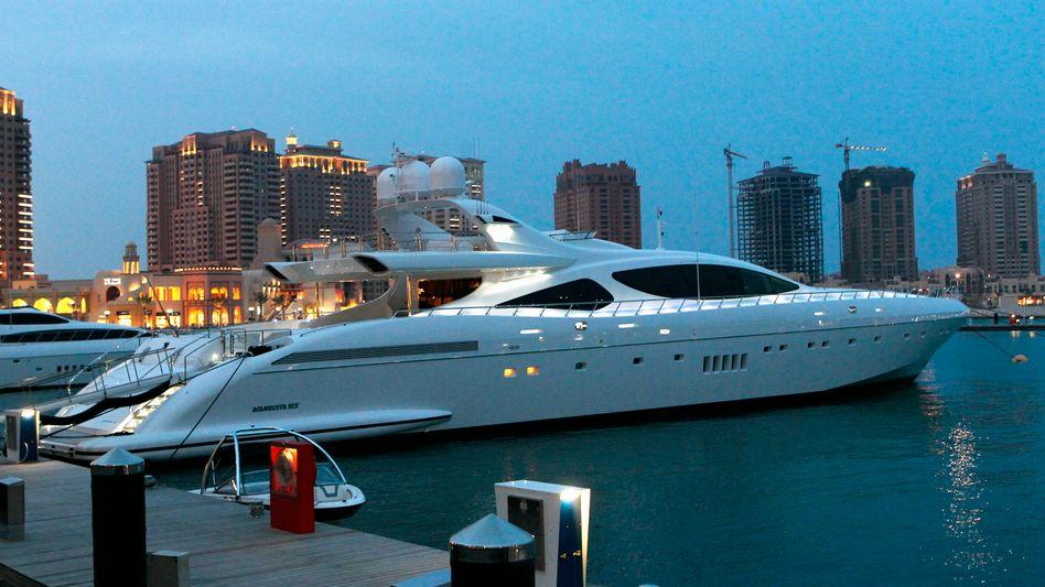 Luxusyacht: Die meisten Millionäre leben in den USA