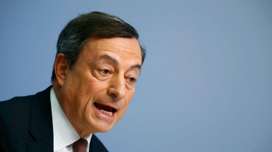 EZB-Chef Mario Draghi: Der Kauf von Unternehmens-Bonds beginnt bereits im Juni
