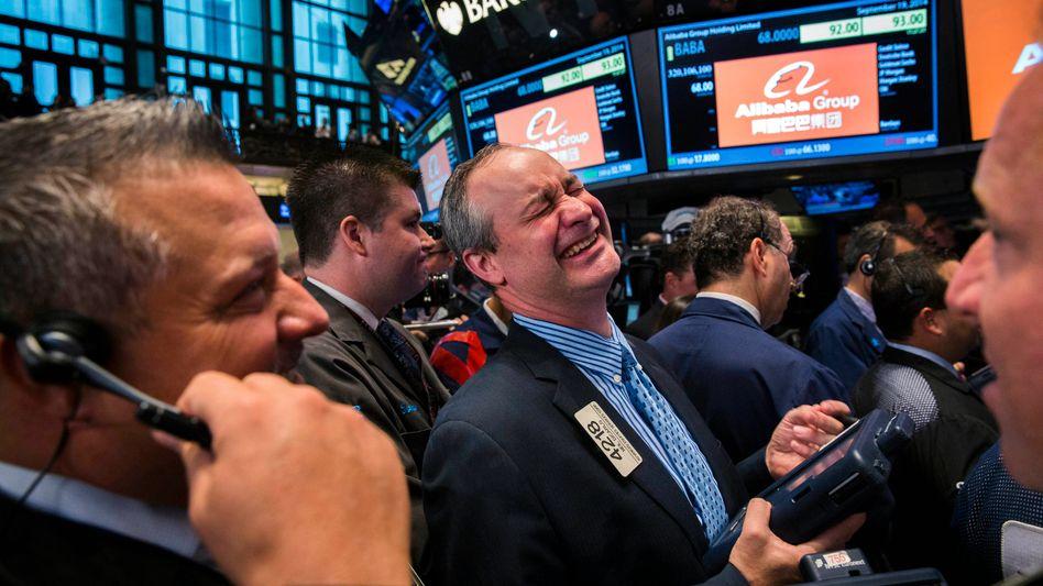 Händler an der Wall Street: Hacker griffen Informationen über börsennotierte Unternehmen ab