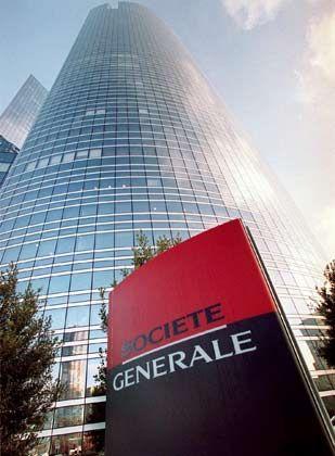 Großes Rad gedreht: Zentrale der Société Générale in La Défense