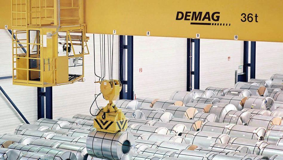 Demag-Kran: Ohne den teuren Abwehrkampf hätte sich der Quartalsgewinn auf zehn Millionen Euro mehr als verdoppelt