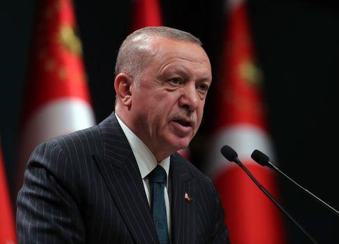 Auf Eskalationsmission: Staatschef Erdogan.