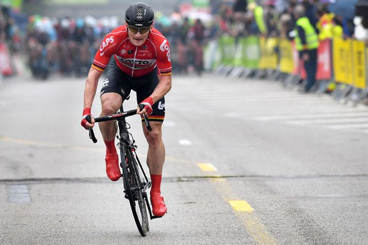 Hofft auf Etappensiege: Deutschlands Sprinter Andre Greipel