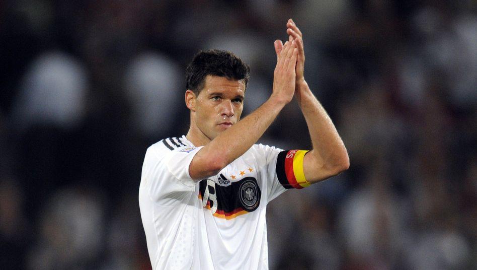 Der Capitano geht: Michael Ballack (im Bild im Jahr 2009) gehörte über viele Jahre zu den Leistungsträgern der DFB-Elf