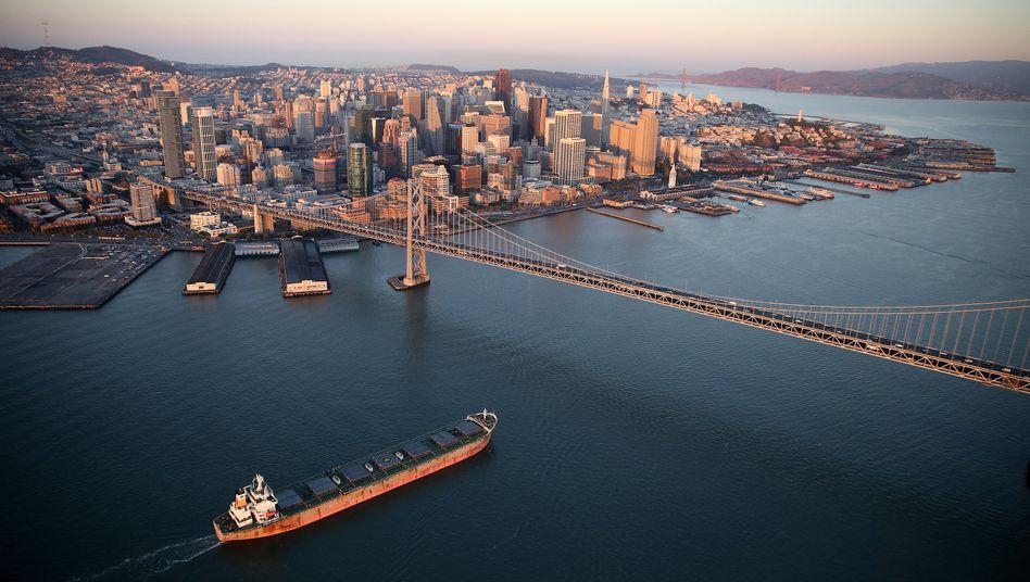 San Francisco: In der kalifornischen Millionenmetropole und deren Umland ist Wohnraum selbst für Normalverdiener nicht mehr bezahlbar