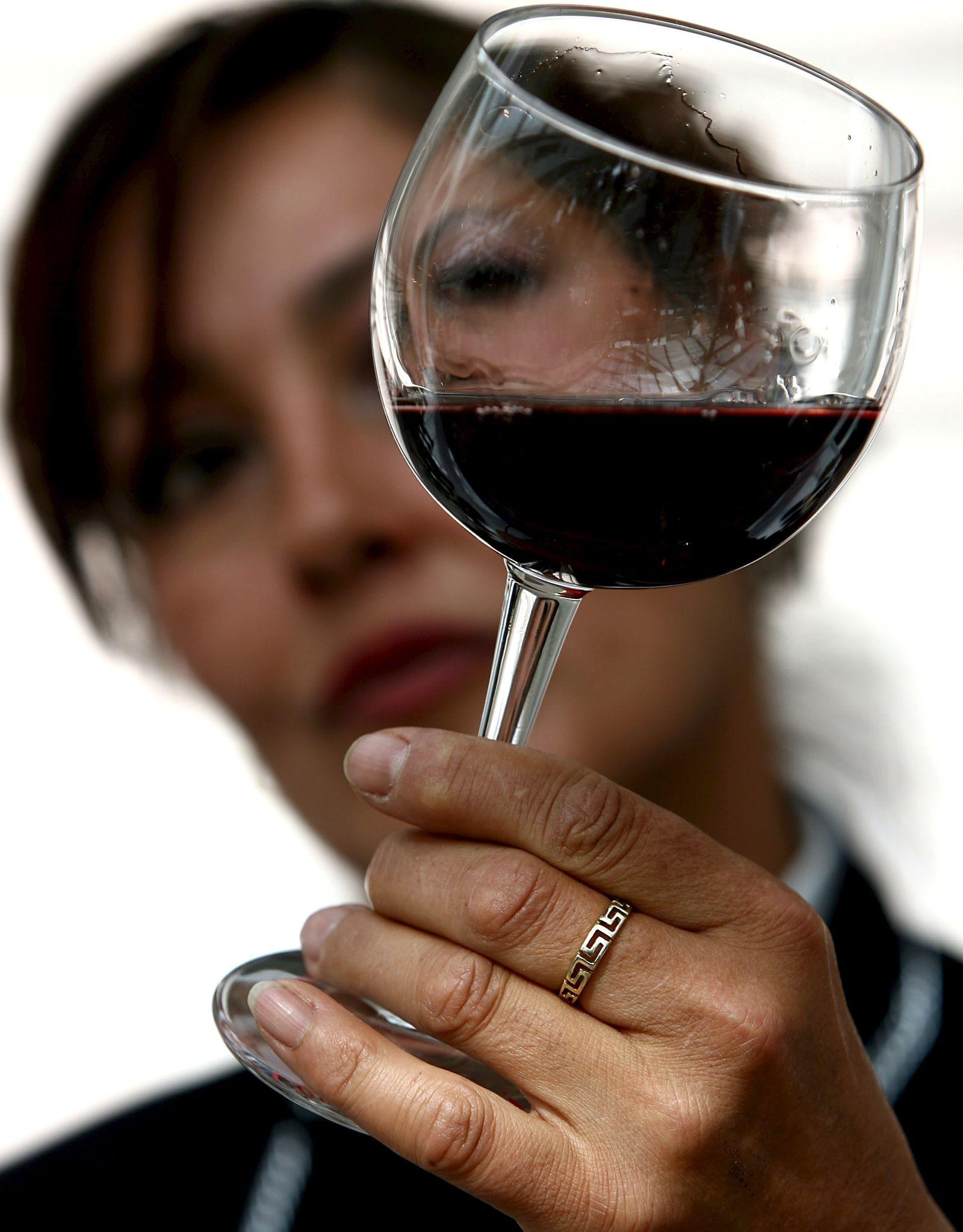 Rotwein / Glas
