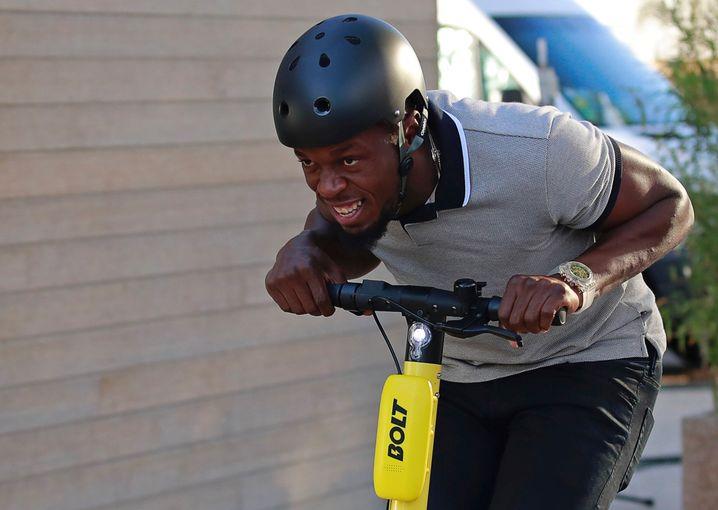 Ex-Sprint-Star Usain Bolt muss die Marke seiner E-Roller ändern. Ein Gericht gab einem Konkurrenzunternehmen im Namensstreit Recht.