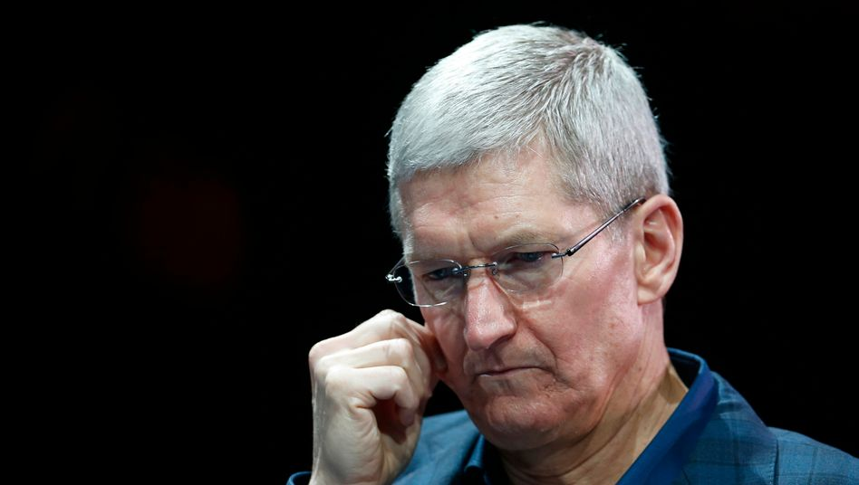 """Tim Cook: """"Sie sind nicht unser Produkt"""", sagte Apple-Chef mit Blick auf Kunden - eine Spitze gegen Google und Facebook"""