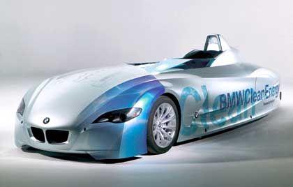 BMW H2R: Neun Weltrekorde in der schmalen Kategorie der Fahrzeuge mit Wasserstoff-Verbrennungsmotor