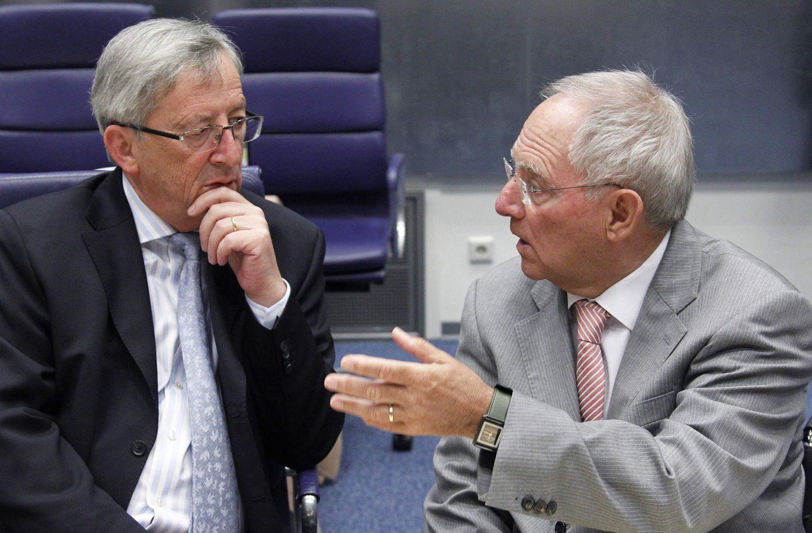 Juncker/ Schäuble