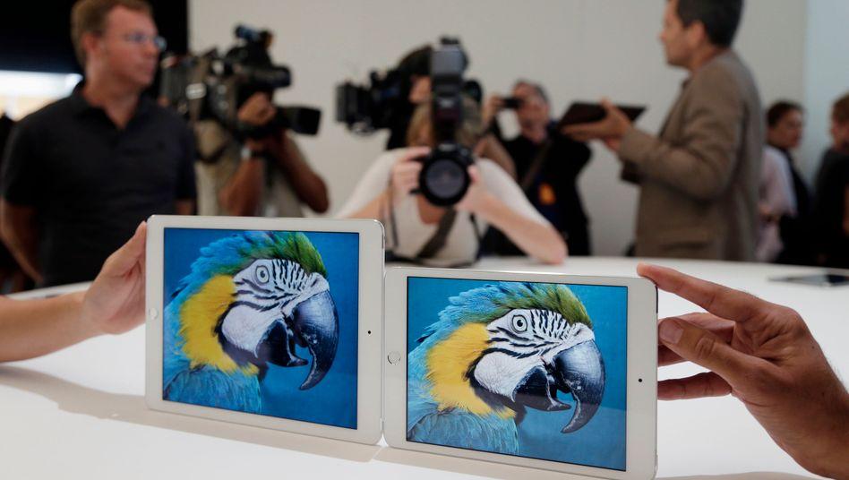 Demnächst in deutschen Firmen: iPad statt Röhrenbildschirm und PVC